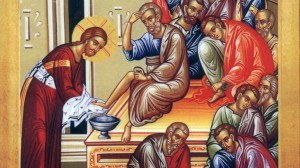 Christ washing his disciples feet icon (2)