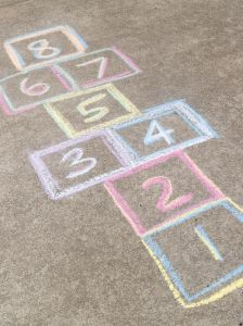 math hopscotch