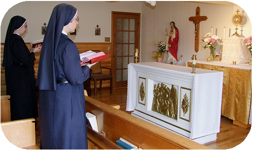 chapel adoration, Divine Office